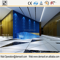 Nature material new product, wallpaper foroom decorative 3d wall panels cheap wallpaper