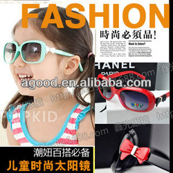 C86 Korean children bow hellokitty cat baby sunglasses lens sunglasses kids glasses frame