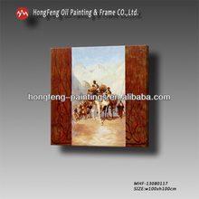 Arabian figures and camel desert oil painting on canvas MHF-13080117