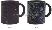 scorpio constellation color changing mug