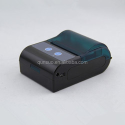 Java android or iOS supported SDK available 58mm bluetooth thermal mobile printer wireless