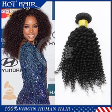 See larger image HOT SALE!!! Full Cuticle Virgin Mongolian Kinky Curly Hair