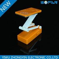 Folding rechargeable led table lamp1055 jinhua led desk lamp