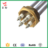Industrial Electric Water Boiler Heating Elements With Brass flange Heater