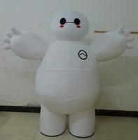Paypal first EVA head & sponge body cheap shipping cost baymax mascot costume