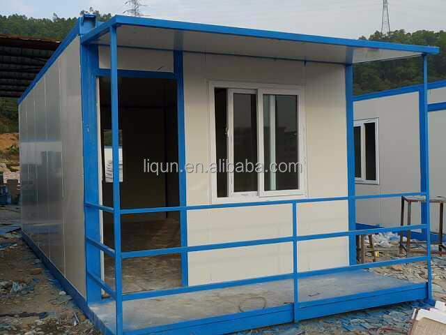 Prefabricated houses container steel and glass houses for Prefab glass house prices