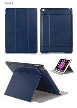 High quality wholesale leather smart cover case for ipad air 2 sleep wake HH-IP608-12