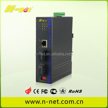 unmanaged single poe and dual fiber ports industrial ethernet poe switch