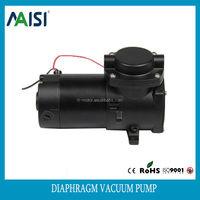 NEW products single stage oilless 12v dc motor air silent vacuum pump for sale