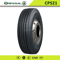COMPASAL 11R22.5 16 PLY PREMIUM STEER/FRONT SEMI TRUCK TIRES