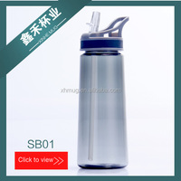 COLORFUL AND CHEAPER PLASTIC 700ML DRINKING WATER BOTTLE , CUSTOMIZD LOGO AND COLOR