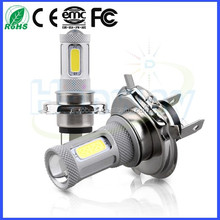 High-end market H4 COB LED Light For Car Fog Light High Power Auto H4 LED Light 80W 12V 24V