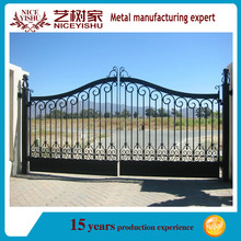 designed wrought Iron quality Gate with competitive price/ factory gate designs