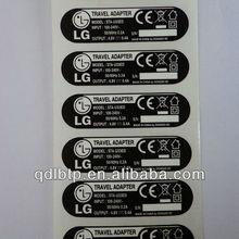 washable label paper laser sticker private label electronic shelf label