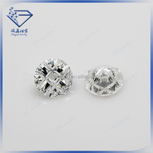 2015 new round blrilliant sudoku cut white loose cubic zirconia stone cz gemstone price