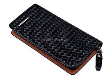 Wholesale Personalized genuine leather men's clutch bag