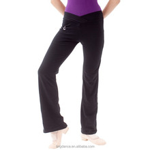 V shaped low waist adult Yoga pants with assorted color