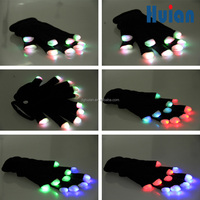glowing toys wholesale of glow in the dark gloves as Rave Party Favor