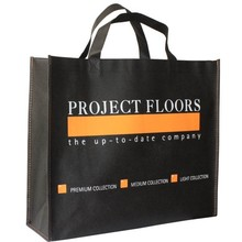 2015 Full Color Print Promotional Reusable Foldable Non Woven Shopping Bag