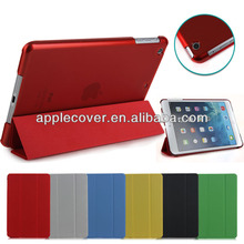 High quality Smart cover with Crystal Back Cover for iPad Mini 4, for iPad Mini 4 case cover