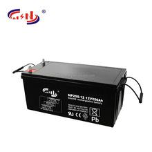 12V 250Ah deep cycle AGM and GEL Solar battery model NP250-12