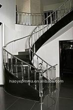 Classic acrílico pilar para escaleras de interior