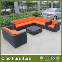 Rattan furniture outdoor sofa set