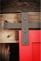 door roller and track,pulley,barn door hardware,solid wood door