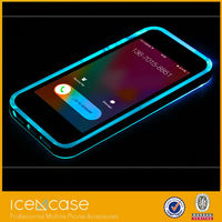For iPhone 6 LED Light Shining Bumper Case in coming call