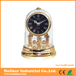 hot selling golden table antique clock