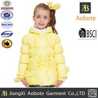 2015 New Fashion Customized Outdoor Kid Varsity Down Jacket,Kid Winter Coat
