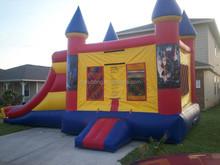 inflatable spiderman combo moonwalks with slide