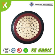 color code telecom copper single core 400mm power cable