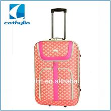 Cathylin new design outside trolley travel fabrice cheap EVA luggage