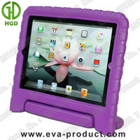 Children Kids Safe Soft EVA Foam stand for ipad 3 cover for ipad tablet