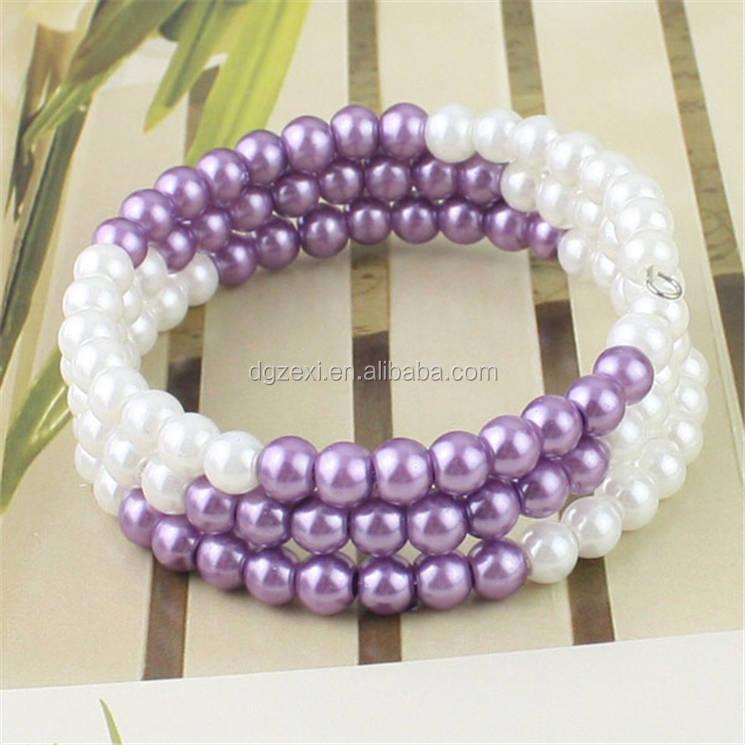 Dongguan Jewelry Factory Directly Handmade Lovely Bracelet