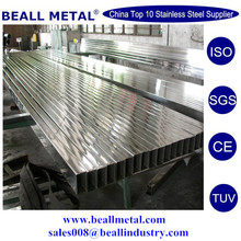 best quality AISI304 304L stainless steel hollow sections manufacturer