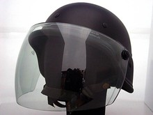 Anti Riot Helmet With PC Goggles, Police Safety Helmet, PC Visor Military Helmet