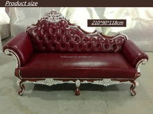Madera salón suite chaise lounge antiguo barroco daybed
