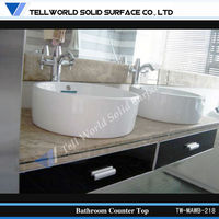 Newest products bathroom solid surface art basin/wash face basin/countertop oval basin sink