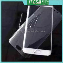 For Samsung Galaxy S6 Edge full cover screen protector screen cover (Clear)