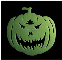 Plastic halloween Luminous hanging pumpkin decoration