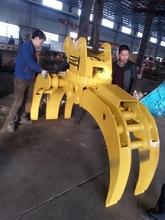 CE-approved excavator log grab