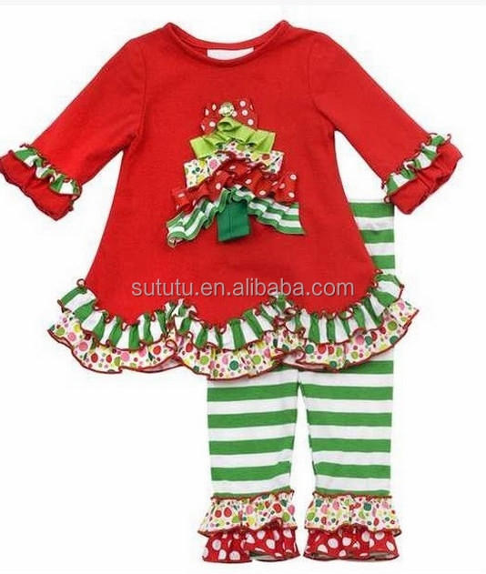 Name Brand Kids Clothing Set Boutique Baby Matching Cheap