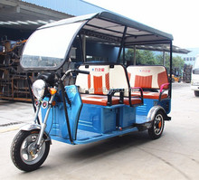48v 800w Cheap Electric 3 Wheeler with Roof
