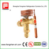 compressor temperature responsive expansion valves for R410a,R134a,R22