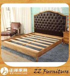 Antique Bedroom Furniture Wooden Bed Frame