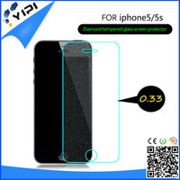 3D diamond protective film Screen Protector For Iphone 5 5G Front + Back