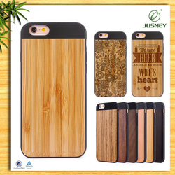 Wholesale factory custom wooden cover for iphone 6s plus