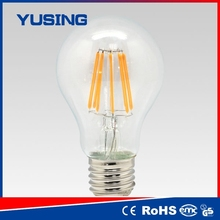 Buy from China edison bulb e27 8w LED filament bulb hk parts